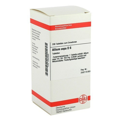 ALLIUM CEPA D 6 Tabletten