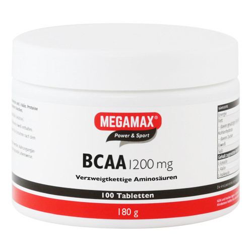 BCAA 1.200 mg Megamax Tabletten