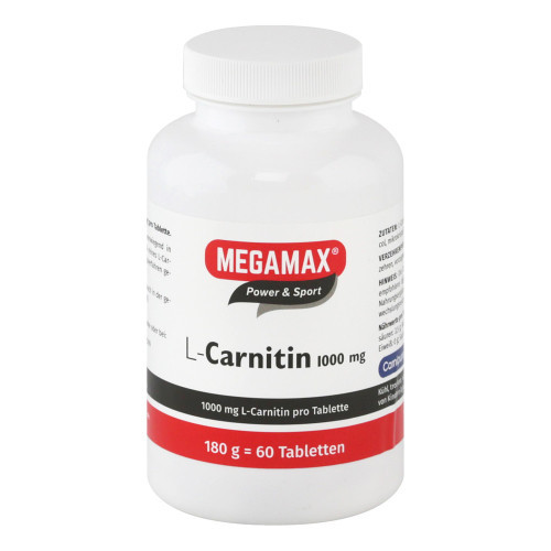 L-CARNITIN 1000 mg Megamax Tabletten