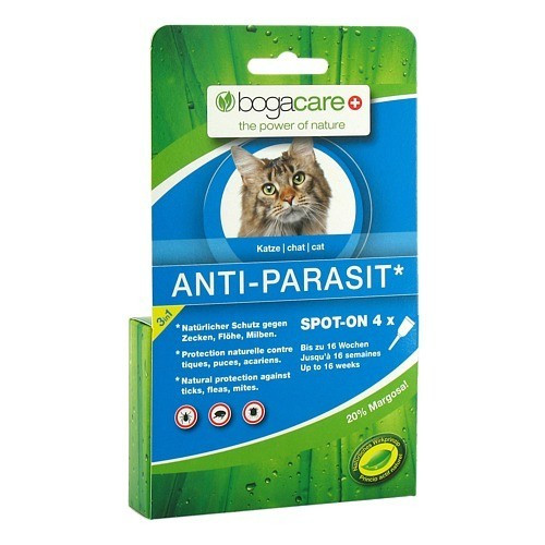BOGACARE ANTI-PARASIT Spot-on Katze