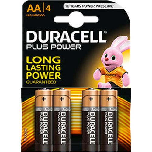 DURACELL Plus Power AA (MN1500/LR6) K4