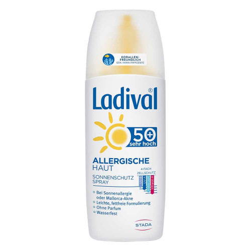 LADIVAL allergische Haut Spray LSF 50+