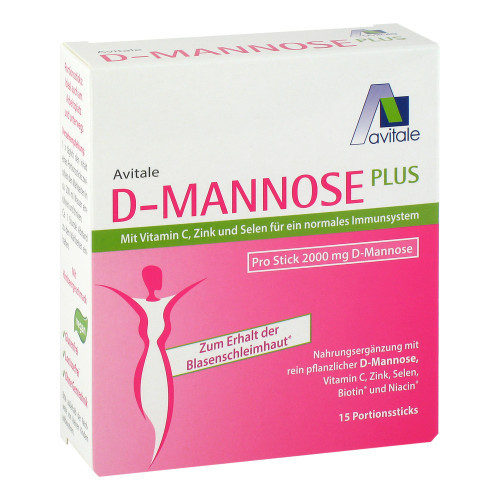 D-MANNOSE Plus 2000 mg m.Vit.u.Mineralstof.Sticks