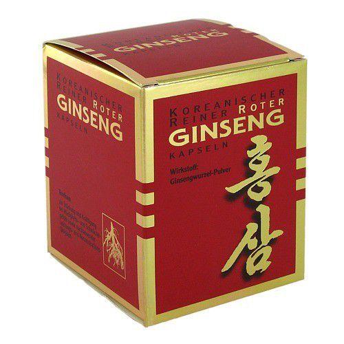 KGV Korea Ginseng Vertriebs GmbH ROTER GINSENG Kapseln 300 mg 200 St