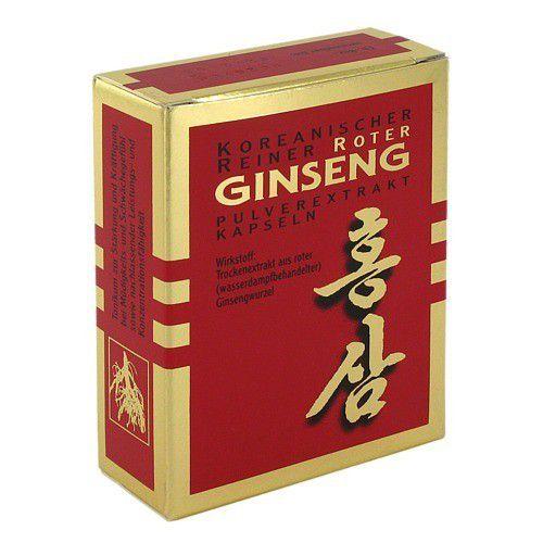 KGV Korea Ginseng Vertriebs GmbH ROTER GINSENG Extrakt Kapseln 30 St