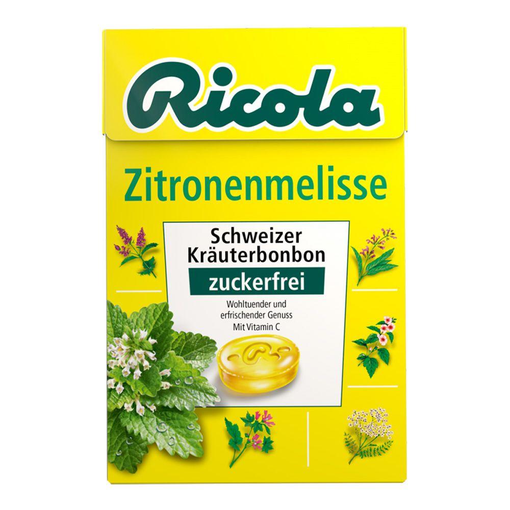 Queisser Pharma GmbH & Co. KG RICOLA o.Z.Box Zitronenmelisse Bonbons 50 g 81700