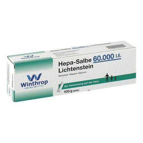 HEPA SALBE 60.000 I.E. Lichtenstein 100 g