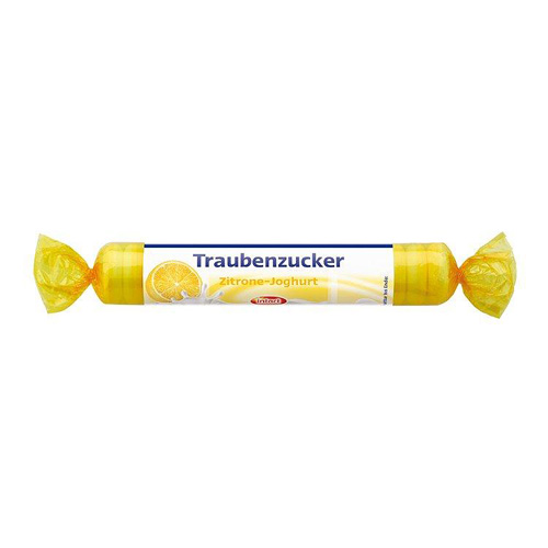 sanotact GmbH INTACT Traubenzucker Rolle Zitrone-Joghurt 40 g 330316